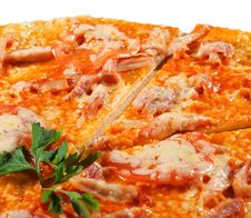 Free Slice Of Meat Pizza Royalty Free Stock Photo - 8099295
