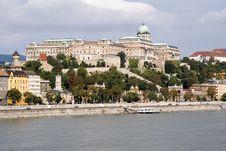 Free Budapest Castle Royalty Free Stock Image - 8099416