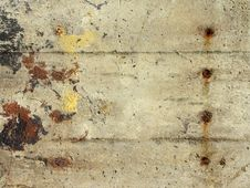 Free Concrete Wall With Stains Stock Images - 8099504