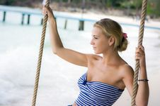 Rope Swings Royalty Free Stock Photos