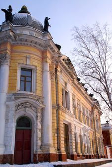 Free Old Building Of A Museum. Russia. Siberia Stock Images - 8099934