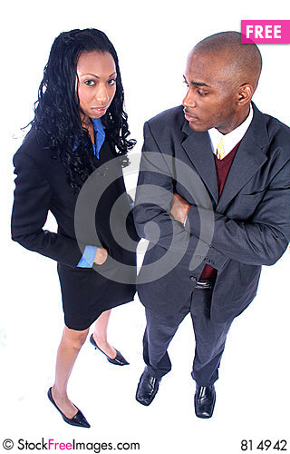 African American Business People Stock Photo