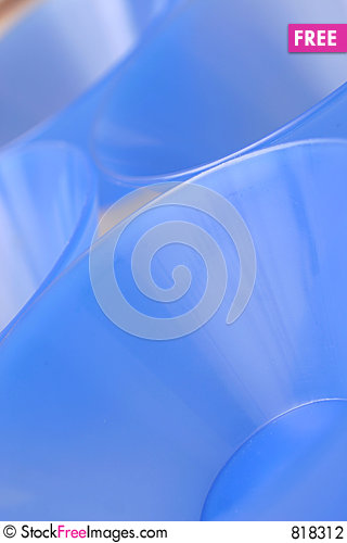 Free Blue Bowls Stock Photography - 818312