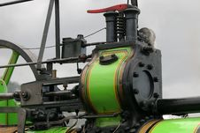 Traction Engine Details Stock Photography