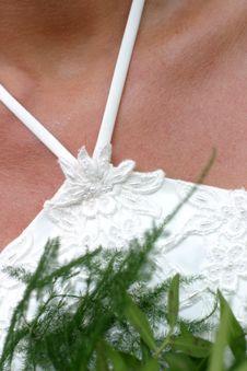 Free Wedding Dress Royalty Free Stock Image - 811876