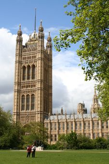 Free Houses Of Parliament Royalty Free Stock Photos - 811998
