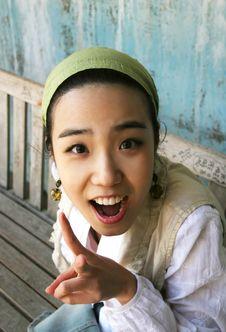 Free Beautiful Korean Girl Stock Photo - 813010
