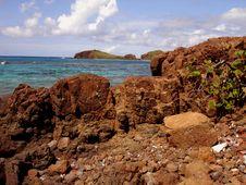 Island Paradise, Caribbean, Puerto Rico, Culebra Stock Images