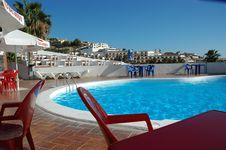 Free Tropical Pool Stock Image - 814121