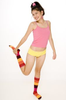Free Colorful Woman Stock Photography - 814262