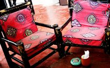 Free Funky Old Chairs Stock Photo - 814320