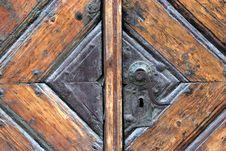 Free Wooden Door Royalty Free Stock Photo - 814475