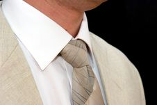 Coat & Tie Stock Images