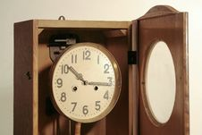 Free Antique Looking Clock Stock Photo - 814670