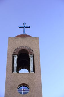Free Church Bell Tower Royalty Free Stock Photo - 815055