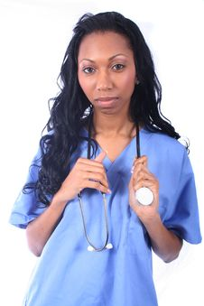 Free Medical - Nurse - Doctor Royalty Free Stock Photography - 815727