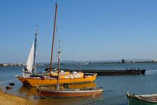 Free Old Traditional Boats Stock Photography - 817042
