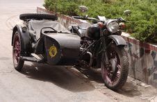 Free Old Motobike Royalty Free Stock Images - 817219