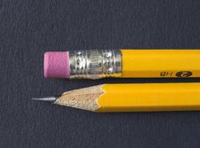 Free Pencil And Eraser Stock Photography - 818012