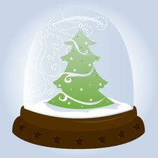 Free Snow Globe - Tree Royalty Free Stock Images - 818259