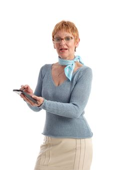 Free Attractive Mature Woman Stock Photography - 819702