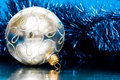 Free Silver Christmas Ball Royalty Free Stock Image - 8103216