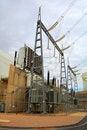 Free Power Plant Transformer Royalty Free Stock Image - 8103236