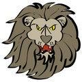 Free Cartoon Lion Face Stock Photo - 8106650