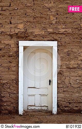 Free Old Door Stock Photography - 8101932