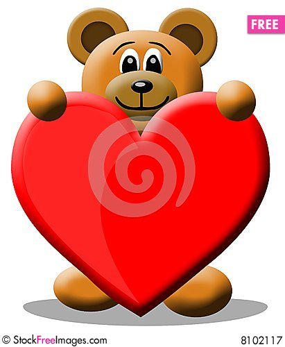 Love bear free stock images photos 8102117 stockfreeimages love bear voltagebd Images