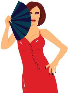 Free Woman With Range Royalty Free Stock Photo - 8100555