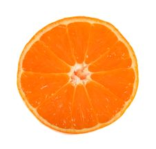 Free Orange Slice Royalty Free Stock Image - 8100656