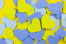 Free Hearts Background Royalty Free Stock Images - 8101449