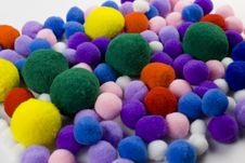 Free Colorful Balls Royalty Free Stock Images - 8101469