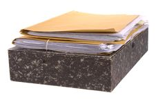 Free Files And Papers Stock Images - 8101794