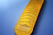 Free Gold Ounces Royalty Free Stock Photos - 8101908