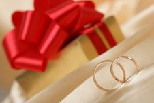 Free Wedding Rings Royalty Free Stock Photo - 8102225