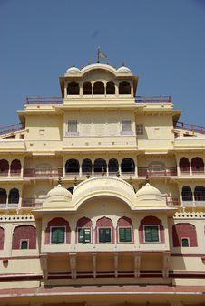 Free City Palace In Jaipur, Rajasthan Stock Image - 8102361