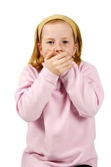 Free Speak No Evil Stock Image - 8102711