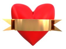 Free Red Heart Stock Images - 8103074