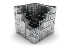 Free Steel Box Royalty Free Stock Photography - 8103187