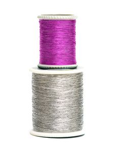 Free Pink And Silver Spools Royalty Free Stock Photography - 8103477