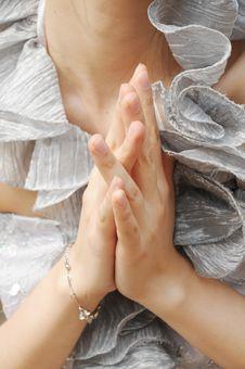 The Praying Hands Stock Photo