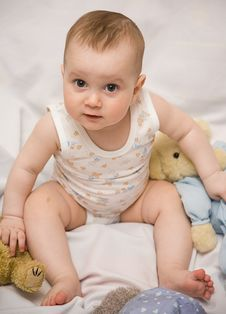 Free Baby Stock Photography - 8104432