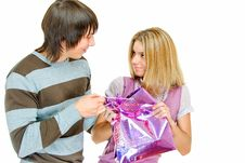 Free No It Is My Gift Stock Image - 8105541