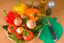 Free Vegetable Still-life. Royalty Free Stock Photos - 8105928