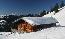 Free Mountain Hut Royalty Free Stock Photography - 8106597