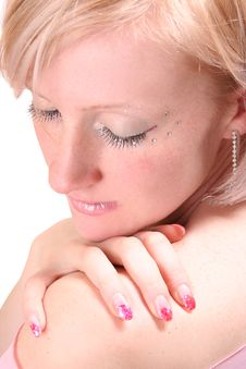 Free Shiny Make-up Stock Image - 8107091