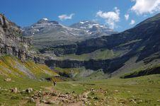 Free Mountain Scenery In Pyrenees Stock Photos - 8107523