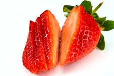 Free Cutted Strawberry Stock Photos - 8108343